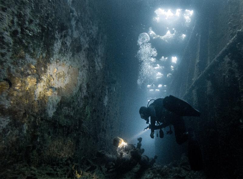 duikbegeleiding drone water proof